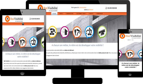 Création site responsive Professionnels Bâtiment 66 Perpignan