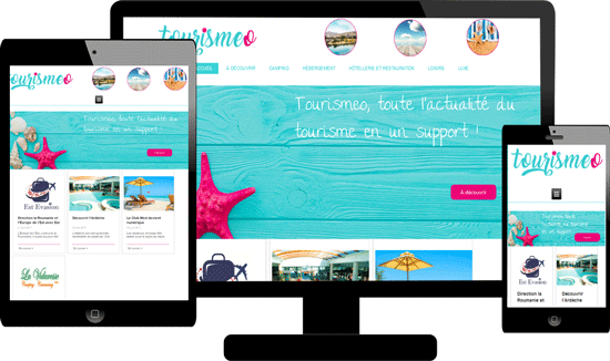Création site internet professionnels du tourisme 66
