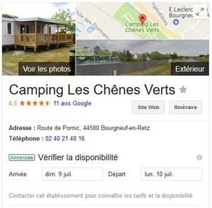 Referencement naturel camping Perpignan 66