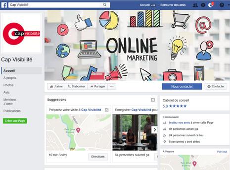Référencement Social Facebook Professionnels 66