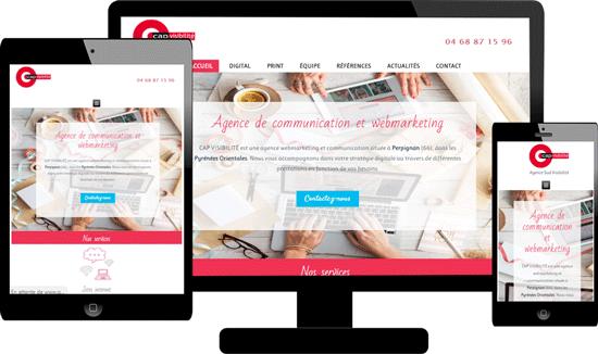 Création site responsive Professionnels 66 Perpignan